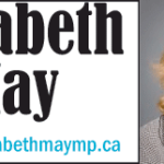 Elizabeth May on counting our blessings