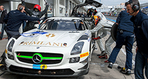 Primat satisfied with work in endurance series opening round