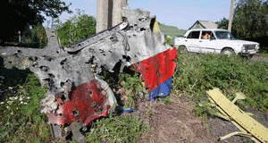 Malaysian MH17: Aircraft was not hit by a missile