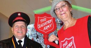 She gives back by ringing her bell: 'Everyone's in their happy spirit!'