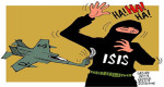 Insane policy as closest US allies are supporting ISIS