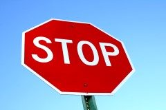 stop-sign-with-blue-sky (Custom)