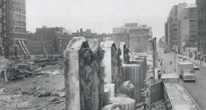 Demolition to make room for TD Centre.