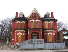The William Dineen House as shown in a Heritage Preservation Services photo from 2011.