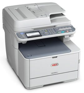 Oki MC562w prints up to 27 colour pages per minute.