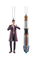 Dr-Who ornaments