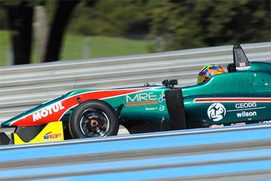 BRDC Rising Star Cameron Twynham continued his preparations for this year's EuroFormula Open campaign with an encouraging display in the opening Winter Series round at Paul Ricard March 1.