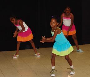 Junior dancers.