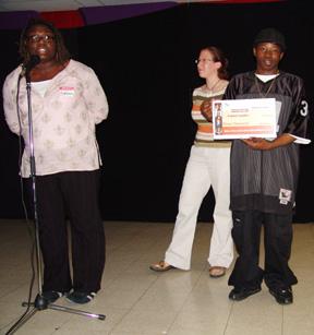Albert Kiwubeyi, Recipient of the Future Shop Scholarship.