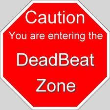 Deadbeat zone