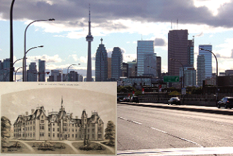 House of Providence and Richmond St. then and now.