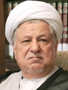 Chairman of Iran's Expediency Council (EC) Akbar Hashemi Rafsanjani