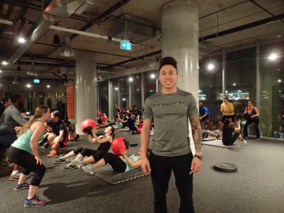 Ivan Ho's passion is to help people get fit and stay fit.