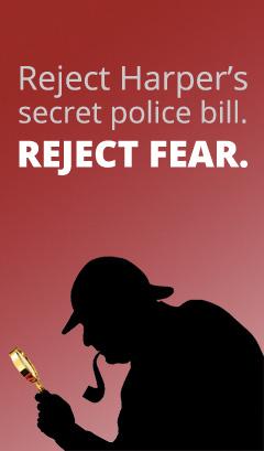 Harper's-police-state