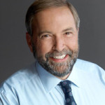 Opposition and NDP Leader Tom Mulcair.