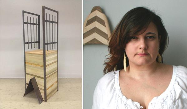 Native Artist Aylan Couchie and her award-winning work.