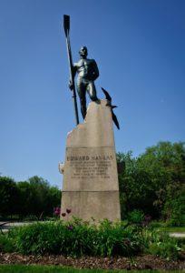 Ned Hanlan statue