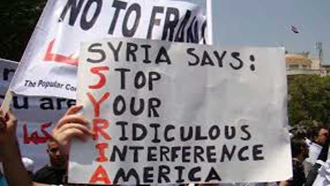 US-Syrian intervention