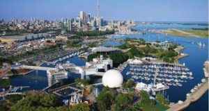 Ontario Place -one of several locations along Toronto's waterfront for a World Water Museum.