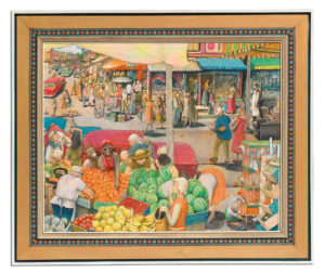 William Kurelek's Hot Day in Kensington Market